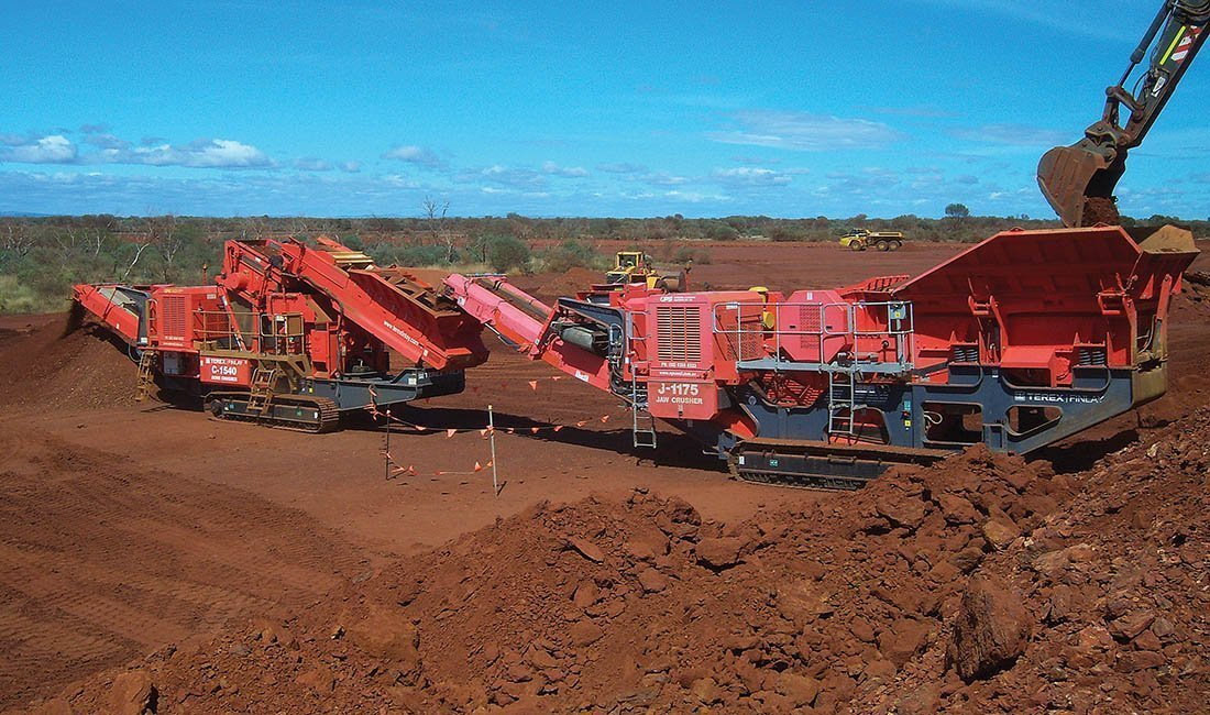 OPS crushing plant hire