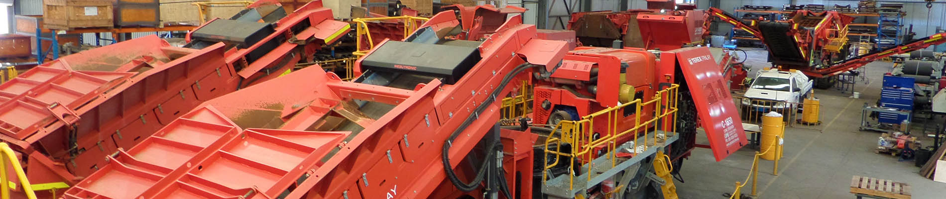 OPS Screening & Crushing Equipment