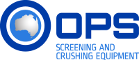 OPS Screening & Crushing Equipment Logo
