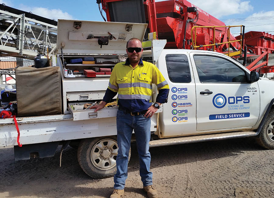OPS Screening & Crushing Equipment | 24hr Service & Support