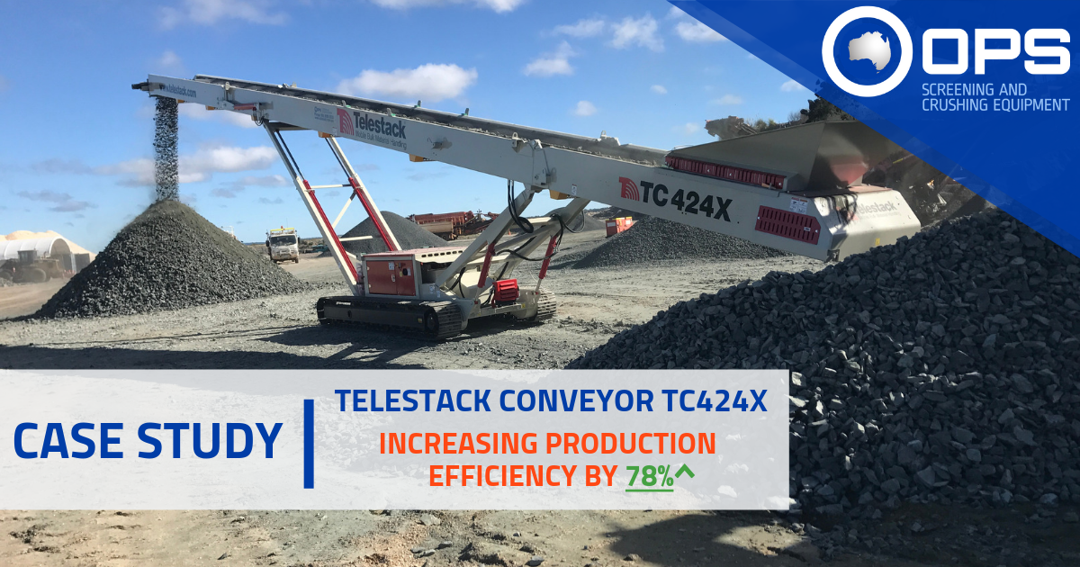 Telestack Conveyor TC424X Case Study Thumbnail