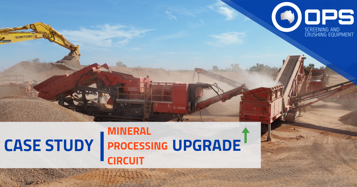 Mineral Processing Circuit Upgrade with Terex Finlay C-1545P Cone Crusher