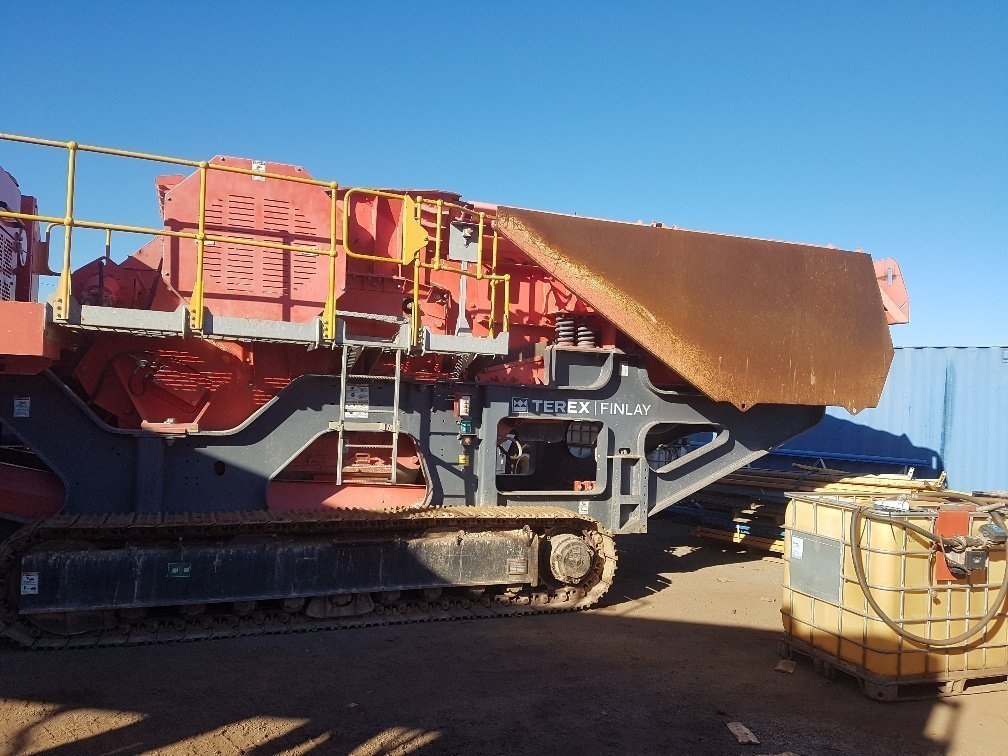 OPS | Used Equipment | Terex Finlay J-1175 Jaw Crusher 2013